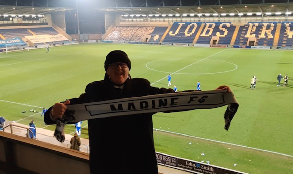 Meet Dave Thompson from Marine Travel, and find out why he's so excited to see Spurs play, when he doesn't even support them